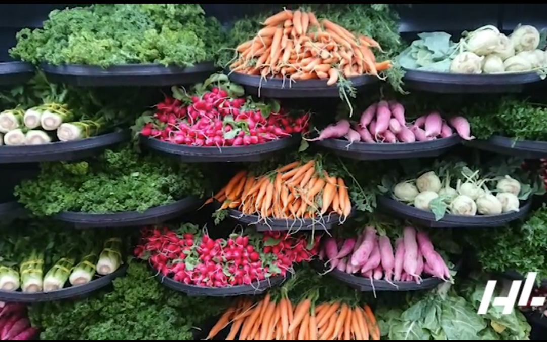 Stunning Fruit and Veg Display: Reducing Waste with Sigma™