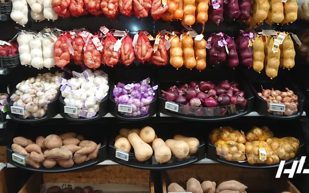Keep Your Fresh Produce Displays Fun and Flexible With FreshCase™